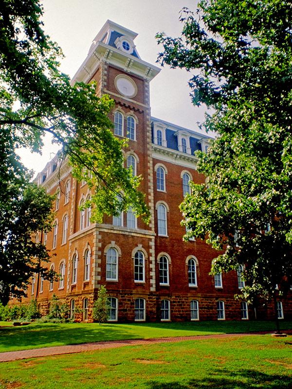 Old Main, University of Arkansas at Fayetteville