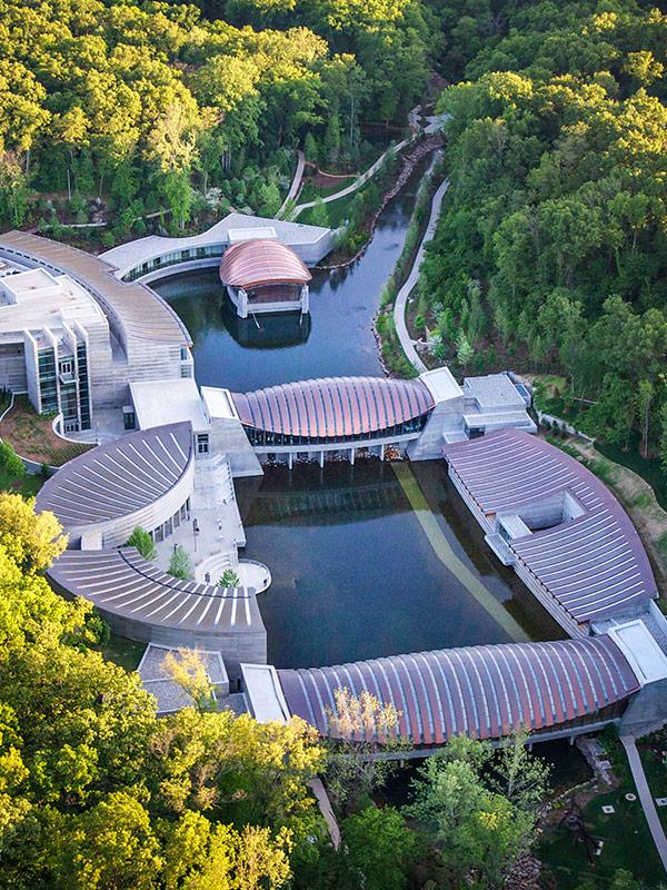 Crystal Bridges Museum, Bentonville AR