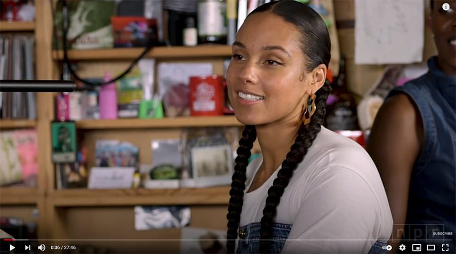Alicia Keys: NPR Music Tiny Desk Concert